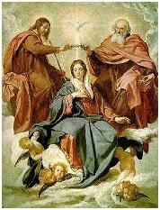 Maria no céu...