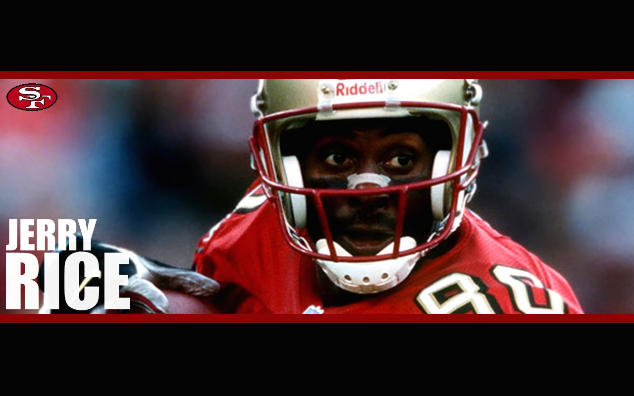 nfl wallpapers jerry rice san francisco