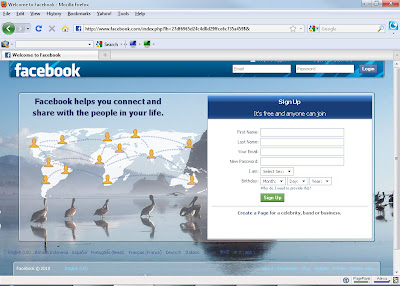 how to change facebook background