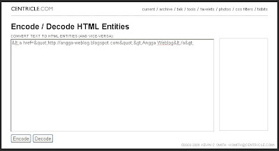 how to make HTML code appears in blog post