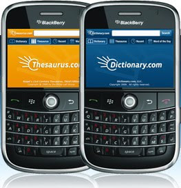 Free Download Dictionary and Thesaurus app for BlackBerry and iPhone iPod Touch