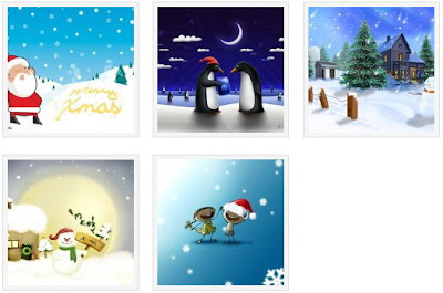Windows 7 Christmas Theme Pack 1 From Tucknoloji