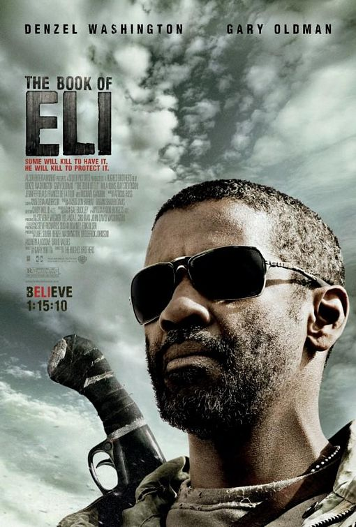 Denzel Washinton plays the role of a Messiah-like hero in the Book of Eli, ...