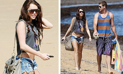 Miley Cyrus está pensando aumentar el tamaño de sus pechos