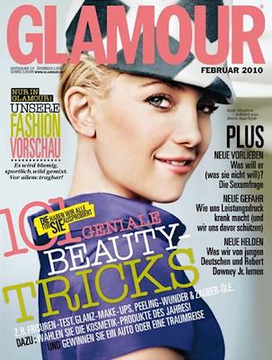 Kate Hudson en la portada de la Revista Glamour Alemania (Febrero 2010)