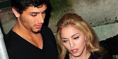 Madonna quiere tener un hijo con Jesús Luz