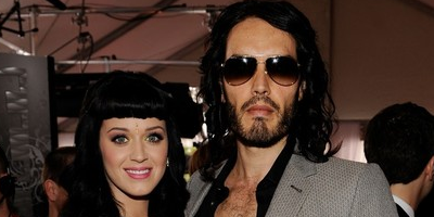 Katy Perry y Russell Brand quieren una boda al desnudo
