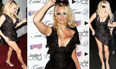 Pamela Anderson fracasó en la presentación de su nueva línea de ropa