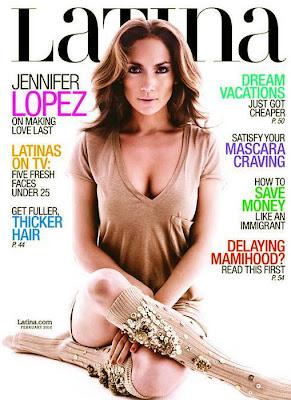 Jennifer Lopez en la Revista Latina (Febrero 2010)