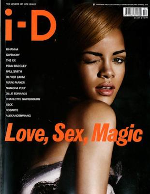 Rihanna en la Portada de I-D Magazine