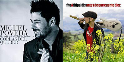 Miguel Poveda y Fito y Fitipaldis triunfadores de los XIV Premios de Música
