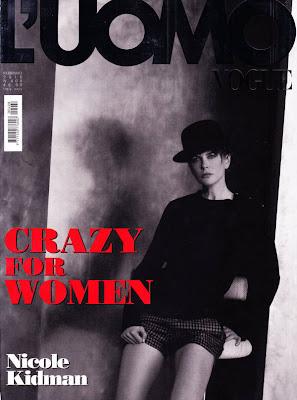 Nicole Kidman en la Revista L'Uomo Vogue (Febrero 2010)
