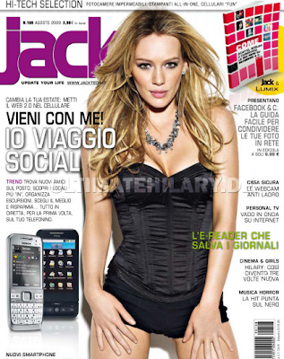 Hilary Duff en Jack Magazine (Agosto 2009)