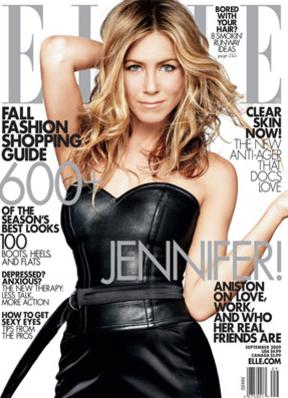 Jennifer Aniston en Elle (Septiembre 2009)