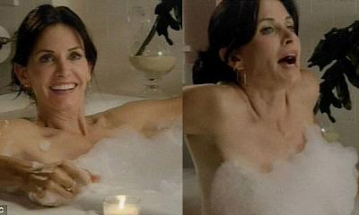 Courteney Cox aparece desnuda en Cougar Town