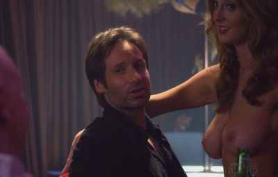 Eva Amurri en Topless en Californication
