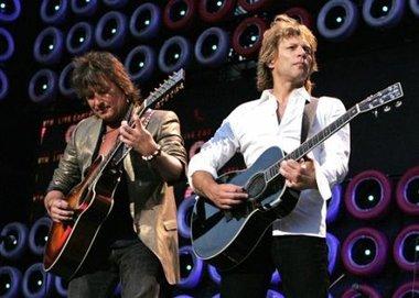 Bon Jovi planea una gira mundial