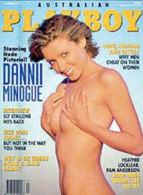 Dannii Minogue se desnudó en Playboy para pagar deudas