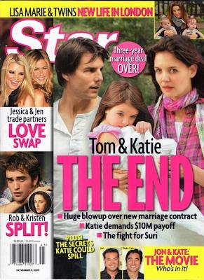 Tom Cruise y Katie Holmes se están separando