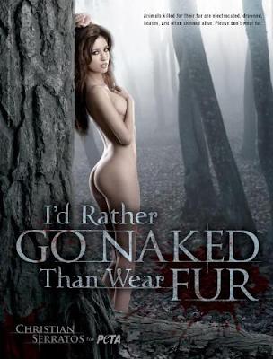Christian Serratos se desnuda para PETA