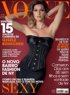 Gisele Bundchen en la Revista Vogue Brasil