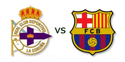 Deportivo La Coruña vs FC Barcelona en VIVO