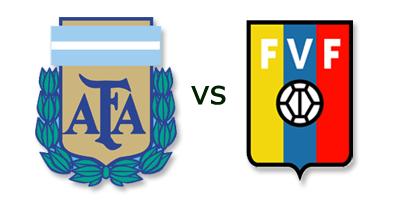 Argentina vs Venezuela en VIVO