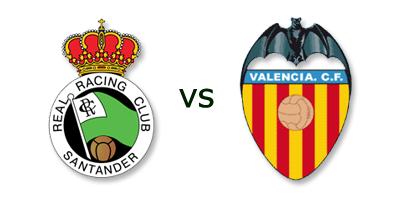 Racing Santander vs Valencia en VIVO