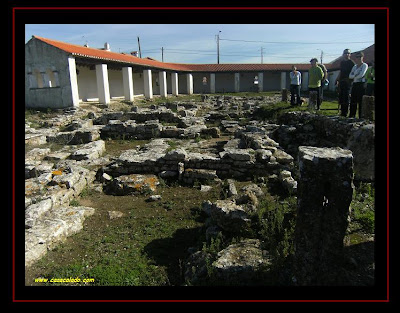 the ruins of a Roman dwelling romana