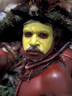 Huli Wigmen tribesman
