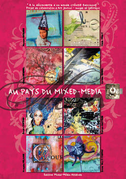 Au Pays du Mixed Media : le livre!!!