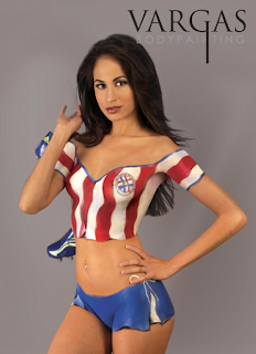 Women Body Painting From Paraguay