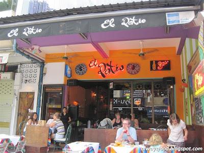Always food: El Patio Mexican Restaurant & Wine Bar, Holland Village