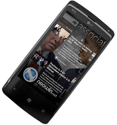 Sistem operasi windows terbaru OS Windows Phone 7 terbaru yang support untuk Wimax broadband tercepat