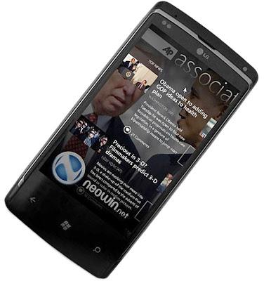 Sistem operasi windows terbaru OS Windows Phone 7 terbaru yang support untuk Wimax broadband tercepat
