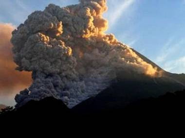 Hujan abu gunung merapi, bahaya abu vulkanik merapi dan berita kawasan terkena hujan abu gunung merapi
