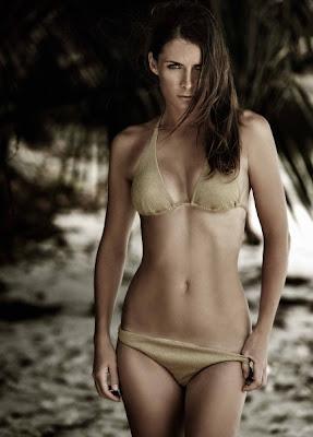 Iveta Benesova in a bikini