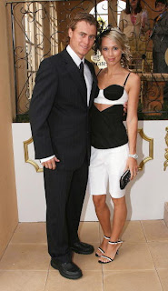 Lleyton Hewitt and his hot wife Bec