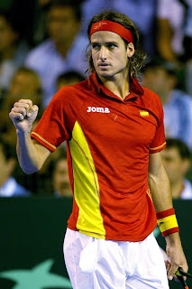 Feliciano Lopez won a mighty victory against Del Potro