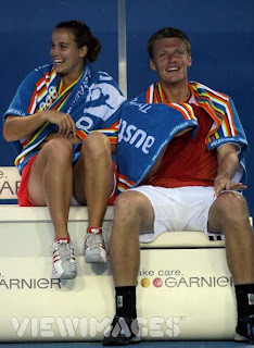 Jarmila Gajdosova and Sam Groth
