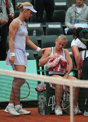 Jelena Dokic and Elena Dementieva