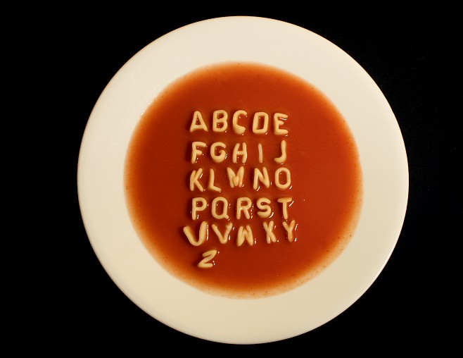 Victoria's Cake Boutique: Alphabet Soup