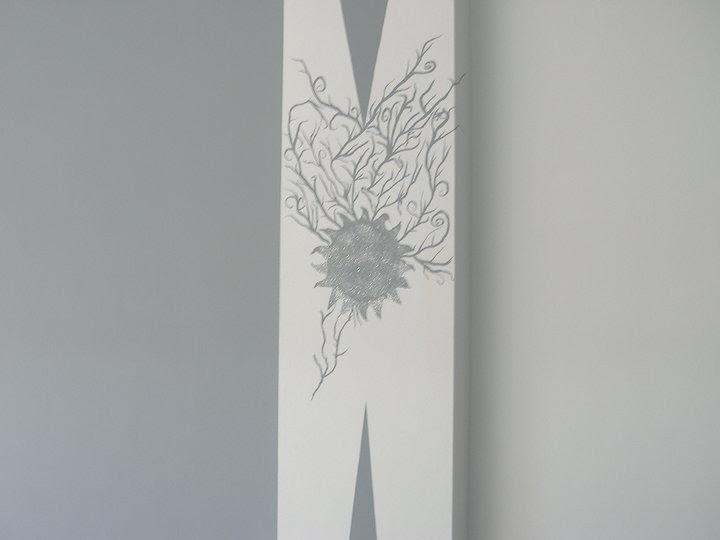 Pintura y alta decoracion maldo columna de salon de alta - Decoracion columnas salon ...