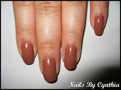 An Opi Color Similar To Chocolate Mousse