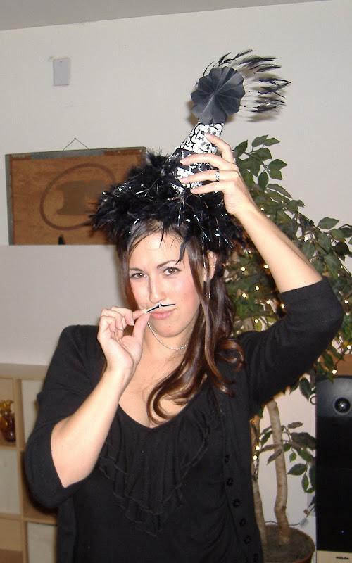 'Stache Bash New Year hat