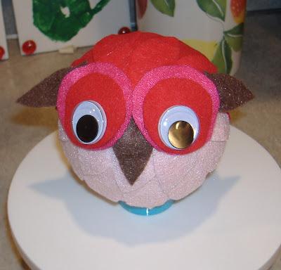 felt owl 2 front
