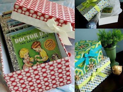 Hullaballo textile boxes