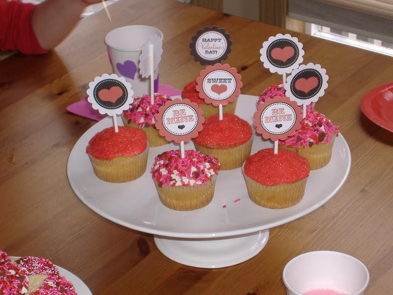 TomKat cupcake toppers