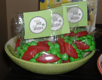 Kiss Me I'm Irish party favors