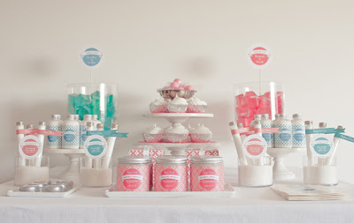 Nonpareil magazine body dessert table